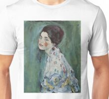 Klimt Portrait of a Lady Unisex T-Shirt