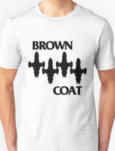 Brown Coat Bars T-Shirt