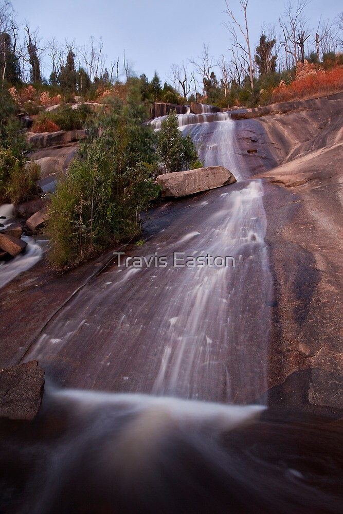 Last Light - Wilhelmina Falls  by Travis Easton