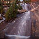 Last Light - Wilhelmina Falls  by Travis Easton