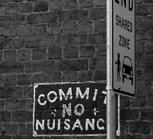 Commit No Nuisance.... And Do Not Share by Vince Russell