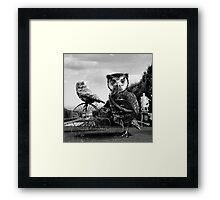He doesn't love you like i do! Framed Print