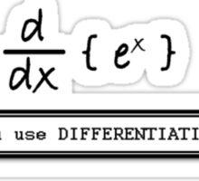 Not Very Effective Maths (Light Shirt) Sticker