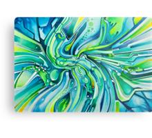 Dynamic Ever-Present Pull - Watercolor Painting Metal Print