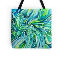 Dynamic Ever-Present Pull - Watercolor Painting Tote Bag