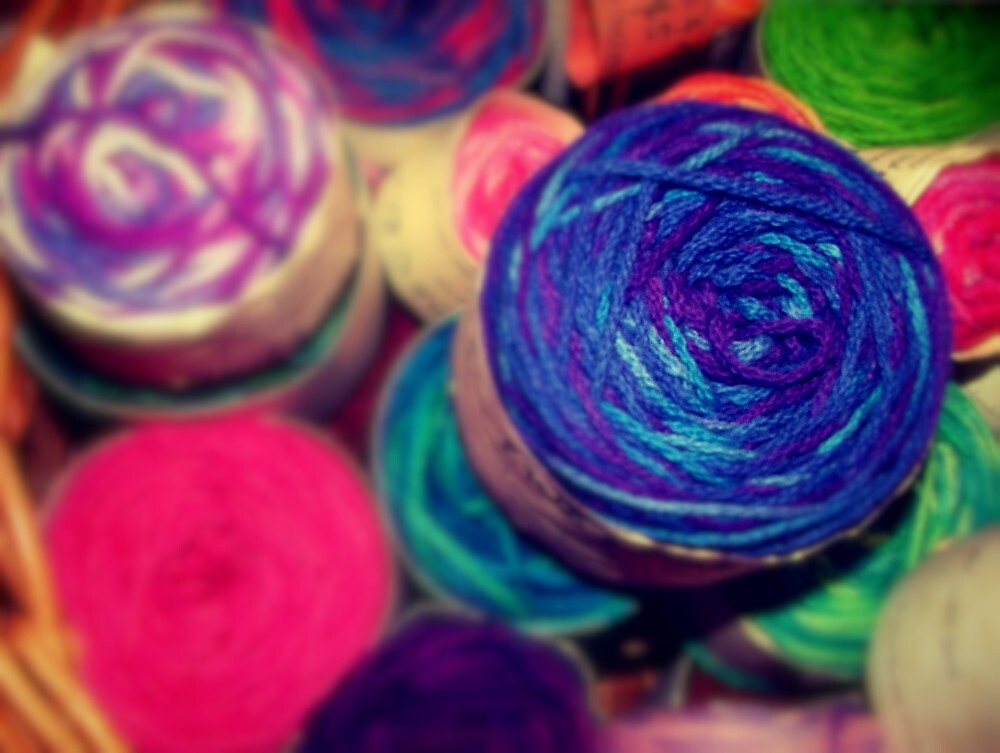 Bright Balls of Wool by unstoppable