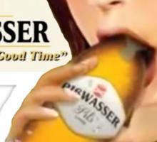 GTA Piswasser Beer T shirt Sticker