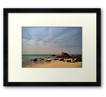 """Water Colour"", Cape Naturaliste, Western Australia Framed Print"