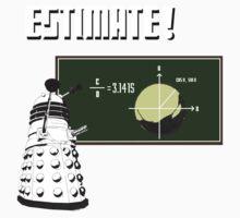 Dalek Pi Math Shirt Kids Tee
