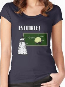 Dalek Pi Math Shirt Women's Fitted Scoop T-Shirt