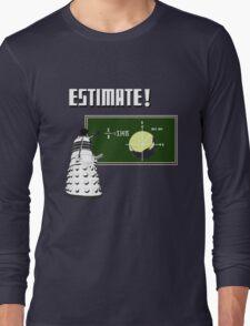Dalek Pi Math Shirt Long Sleeve T-Shirt