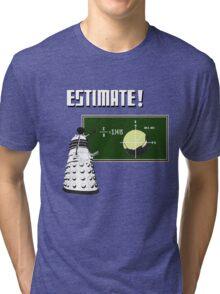 Dalek Pi Math Shirt Tri-blend T-Shirt