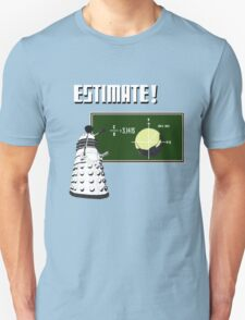 Dalek Pi Math Shirt Unisex T-Shirt
