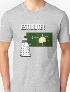 Dalek Pi Math Shirt T-Shirt