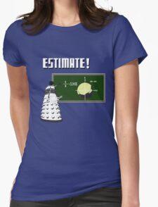 Dalek Pi Math Shirt Womens Fitted T-Shirt