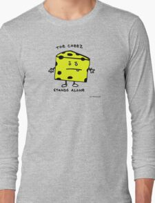 The Cheese Stands Alone Long Sleeve T-Shirt