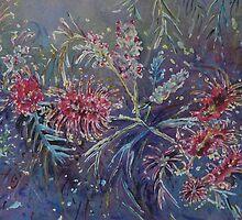 Grevilleas by Wendy Hawthorn