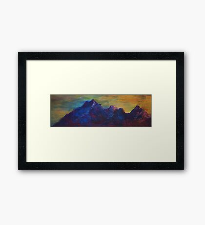 untouchable Framed Print
