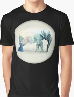 Vanishing Elephant Graphic T-Shirt
