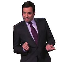 Jimmy Fallon Dancing Photographic Print