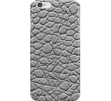 IPHONE CASE CROCODILE LEATHER BLACK&WHITE iPhone Case/Skin