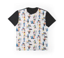 9 Scientists Graphic T-Shirt