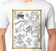 Silly Drawings Unisex T-Shirt