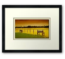 Taree floods 01 Framed Print