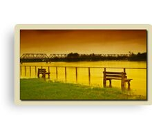 Taree floods 01 Canvas Print