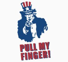 Pull my finger (Uncle Sam) by LaundryFactory