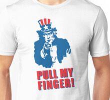 Pull my finger (Uncle Sam) Unisex T-Shirt