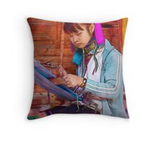 Refugee's Sorrow Bound Body and Soul 7 Throw Pillow