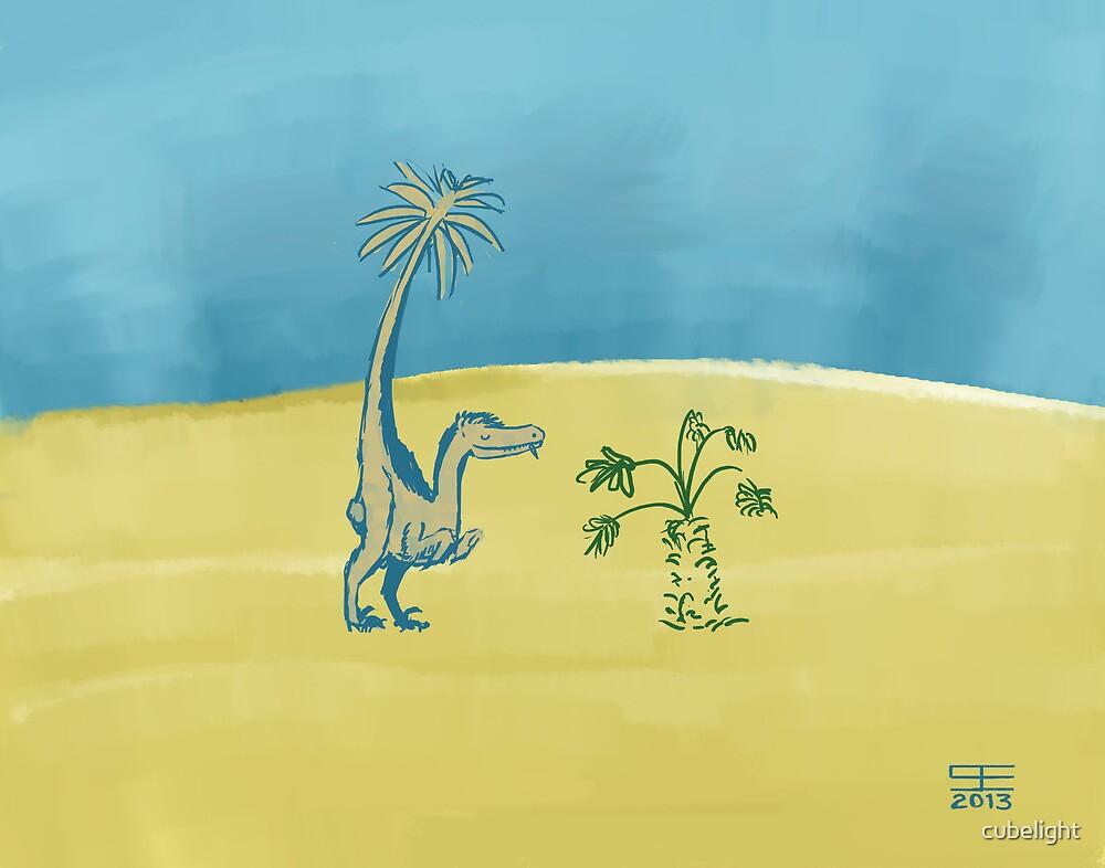 Dromaeosaur Nip by cubelight