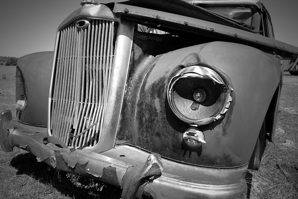 Retired Old Car 2 by unstoppable