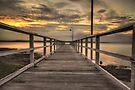 Jetty Sunset by bazcelt