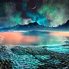Peach Melba Lake by SpinningAngel