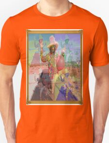 Psychedelic Space Hopper Man T-Shirt
