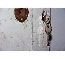 The keys Photographic Print