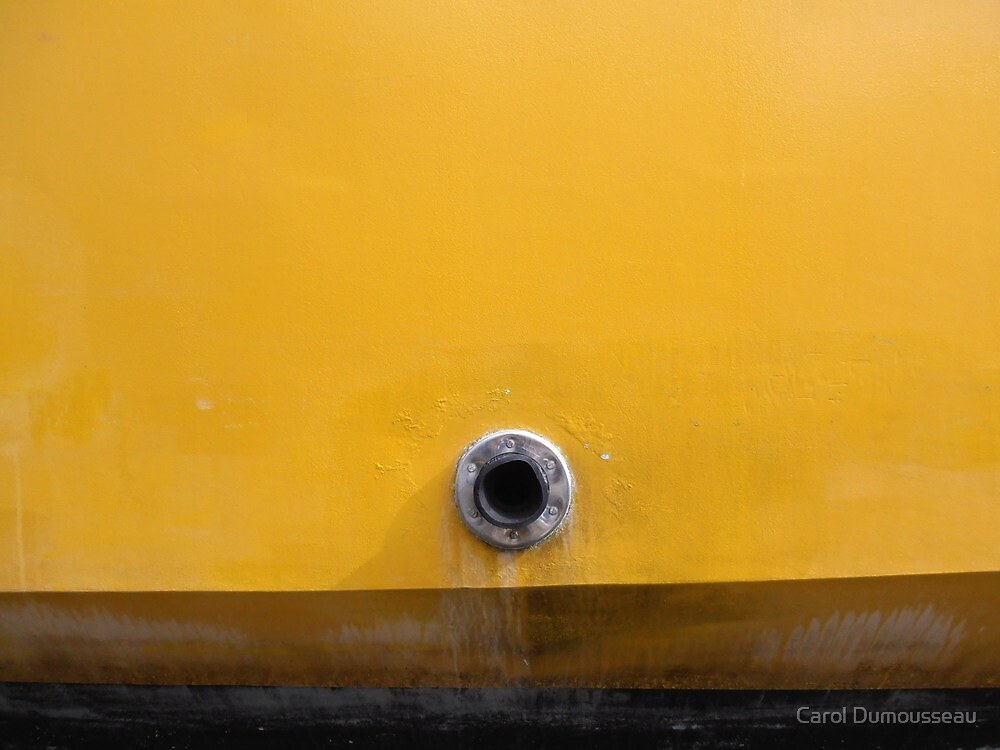 Where does this hole go to by Carol Dumousseau