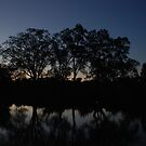 Murray River Sunset  by unstoppable