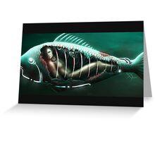 Underwater Prison - detail Greeting Card