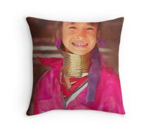 Refugee's Sorrow Bound Body and Soul 13 Throw Pillow