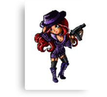 Pixel Mafia Miss Fortune Canvas Print