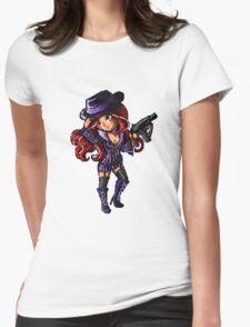 Pixel Mafia Miss Fortune Womens Fitted T-Shirt