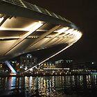 Lights under the bridge by Lorna Taylor