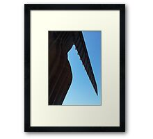 The Angel's bum Framed Print