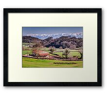 Farmhouse Basque Country Framed Print