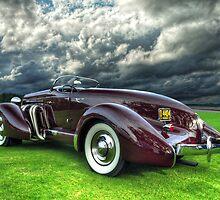 1935 Auburn Model 851 by John E Adams