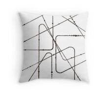 A Motion Throw Pillow