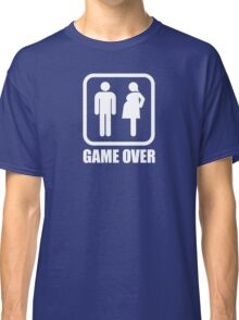 Game over - pregnant Classic T-Shirt